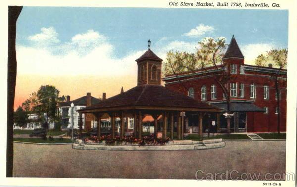 Old Slave Market Louisville Ga