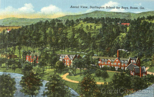 Aerial View Darlington School For Boys Rome Georgia