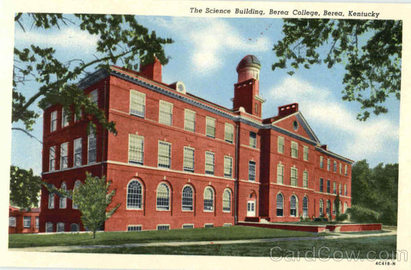 The Science Building, Berea College Kentucky
