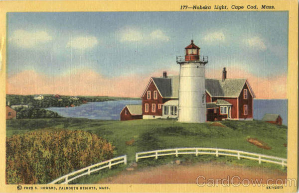 Nobska Light Cape Cod Massachusetts