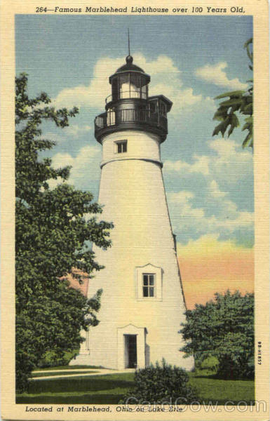 Famous Marblehead Lighthouse Ohio