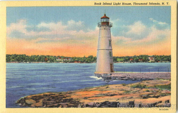 Rock Island Light House Thousand Islands New York