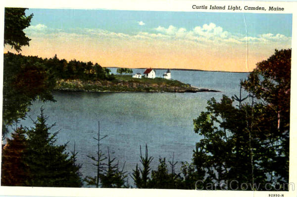 Curtis Island Light Camden Maine