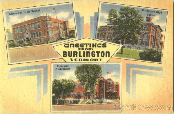 Greetings From Burlington Vermont