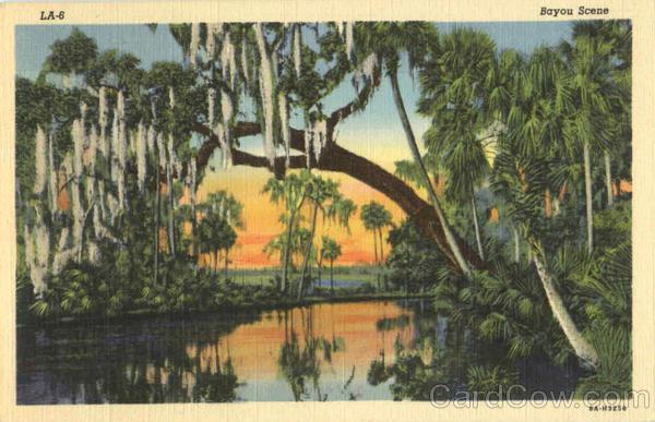 Bayou Scene Scenic Louisiana