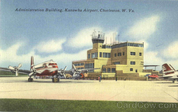 Administration Building, Kanawha Airport Charleston West Virginia