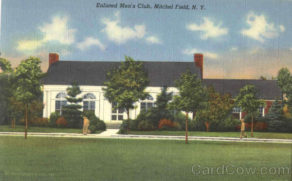Enlisted Men's Club Mitchel Field New York
