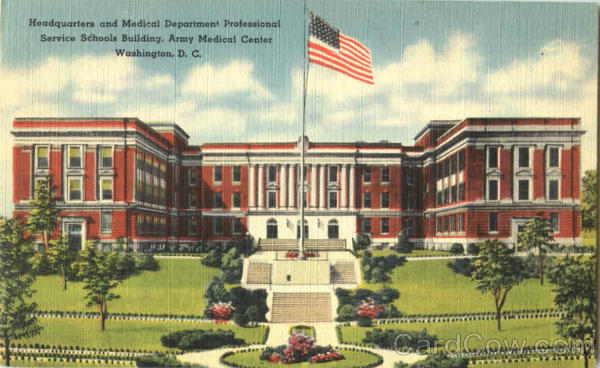 Headquarters And Medical Department Professional Service Schools Building Washington District of Columbia