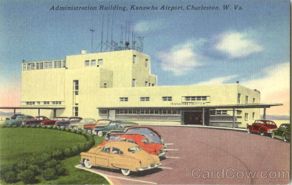 Administration Building Kanawha Airport Charleston West Virginia