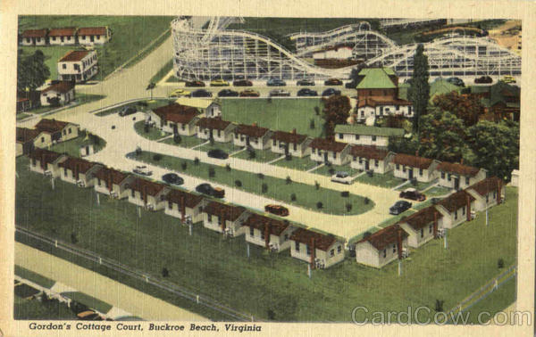 Gordon's Cottage Court Buckroe Beach Virginia Amusement Parks