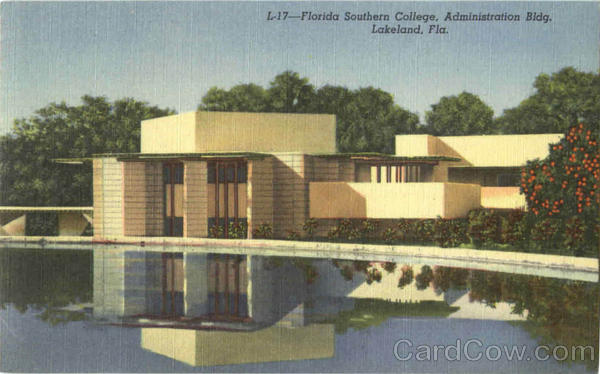 Florida Southern College Administration Bldg Lakeland