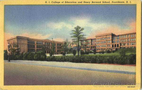 R. I. College Of Education And Henry Barnard School Providence Rhode Island