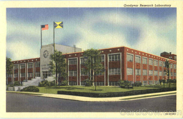 Goodyear Research Laboratory Akron Ohio