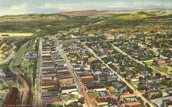 Air View Of Gallup New Mexico