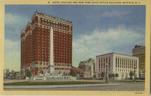 Hotel Statler And New York State Office Building Buffalo