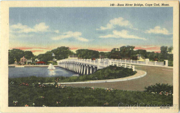 Bass River Bridge Cape Cod Massachusetts