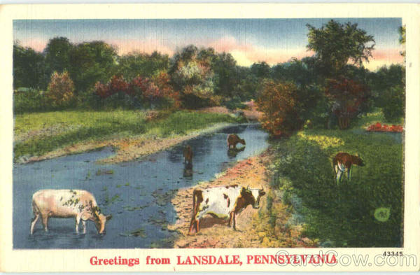 Greetings From Lansdale Pennsylvania
