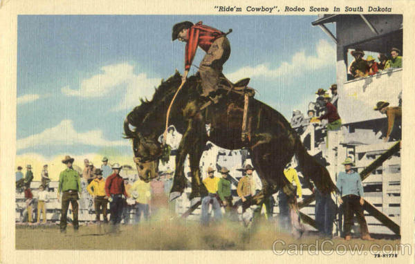Ride's Cowboy Rodeo Scene Rodeos