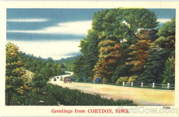 Greetings From Corydon Iowa