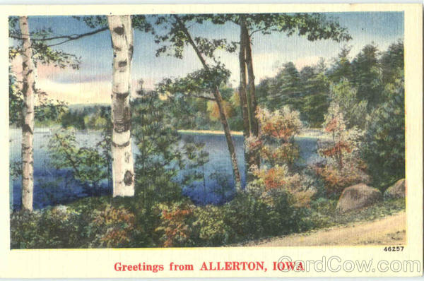 Greetings From Allerton Iowa