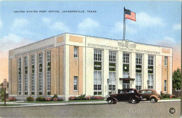 United States Post Office Jacksonville Texas