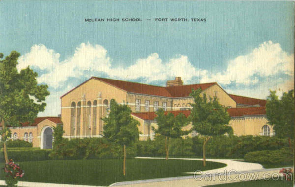 Mclean High School Fort Worth Texas