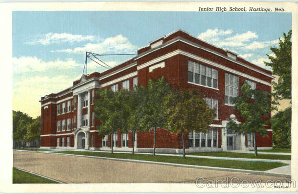 Junior High School Hastings Nebraska
