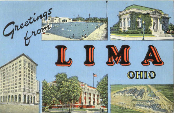 Greetings From Lima Ohio