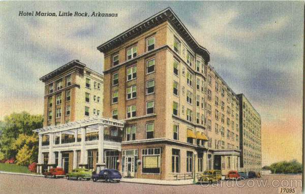 Hotel Marion Little Rock Arkansas