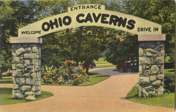Entrance Ohio Caverns