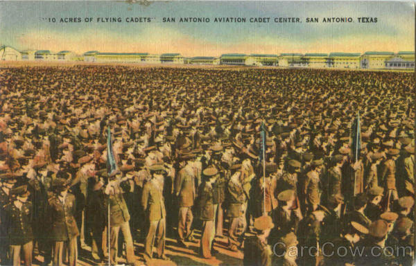10 Acres Of Flying Cadets San Antonio Aviation Cadet Center Texas