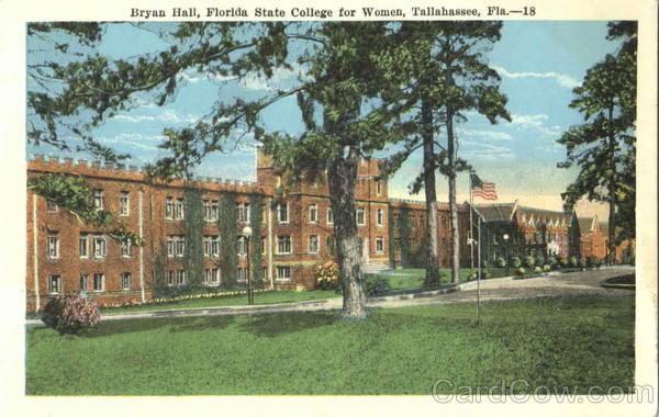 Bryan Hall, Florida State College for Women Tallahassee