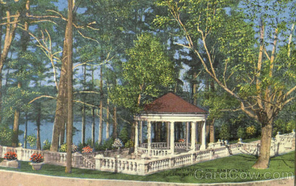News In Augusta Ga >> Palisades And Band Stand, Julian Smith Park Augusta, GA