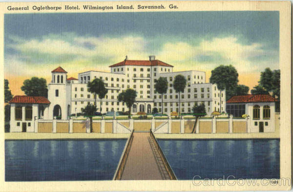 General Oglethorpe Hotel, Wilmington Island Savannah Georgia