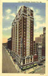 Hotel Phillips Postcard