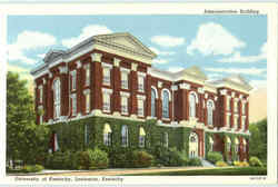 Administration Building, University Of Kentucky