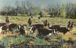 Round Up Time On Boys Ranch, Old Tascosa
