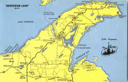 Keweenaw Land Map