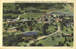 Aerial View Of The Oklahoma Military Academy