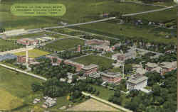 Airview Of The Iowa State Teachers College Campus Postcard