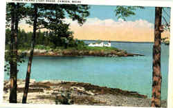 Nigger Island Light House Postcard