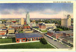 Skyline Of Abilene