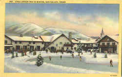 Challenger Inn In Winter