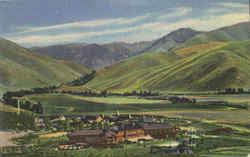 Sun Valley Summer Scene