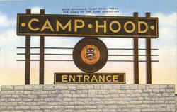 Main Entrance Camp Hood
