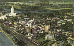 Air View Of Baton Rouge