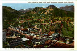 Village Of Estes Park, Rocky Mountain National Park