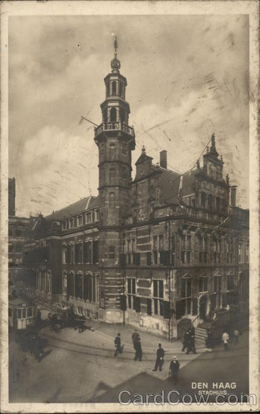 Stadhuis The Hague Netherlands Benelux Countries