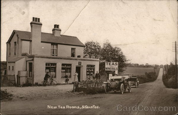 New Tea Rooms Stansted England Kent