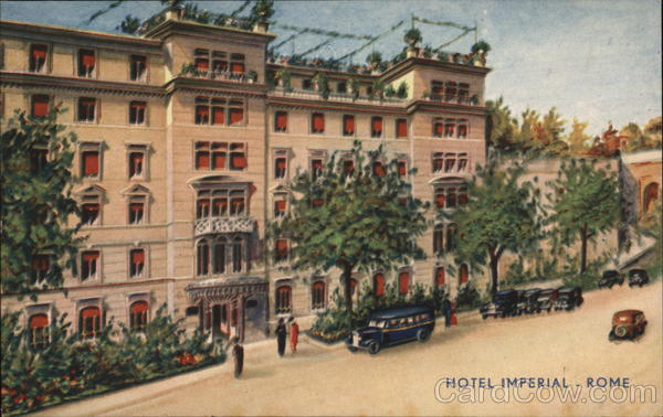 Hotel Imperial Rome Italy